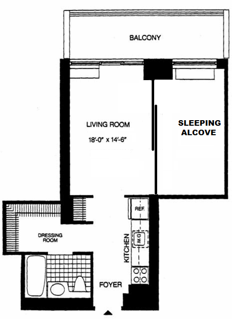 Apartment Murray Hill - Interactive plan