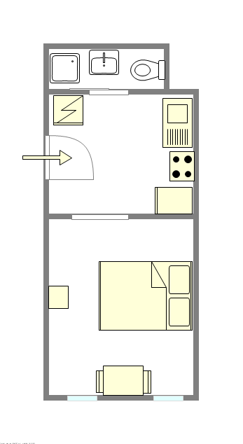 Townhouse Bedford Stuyvesant - Interactive plan