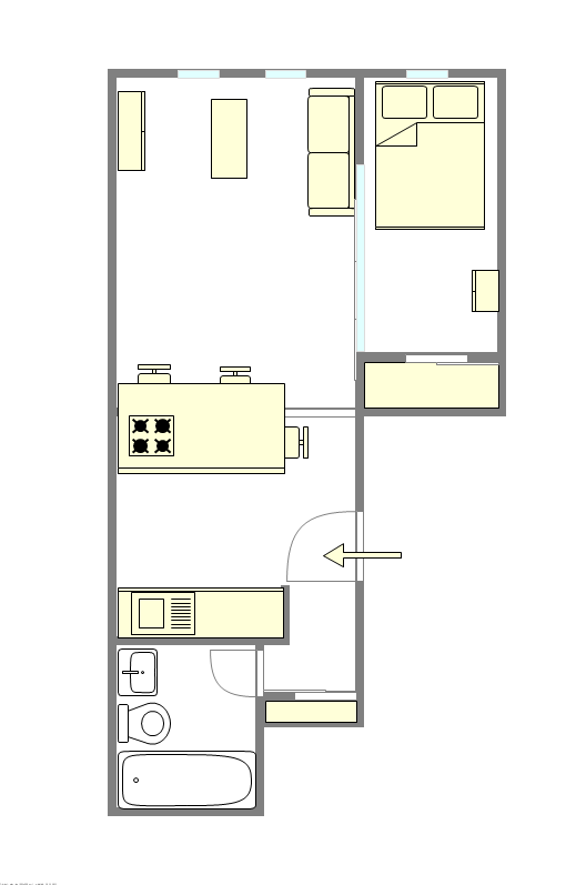 Townhouse Upper West Side - Interactive plan