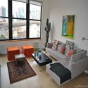 Apartment Washington Street Brooklyn Heights - Living room