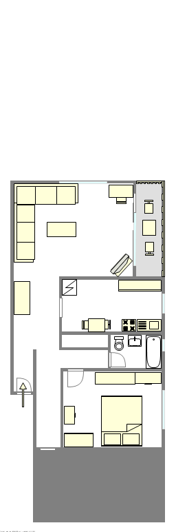 Apartment Lower East Side - Interactive plan