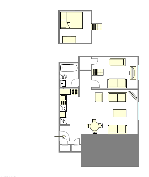 Apartment Williamsburg - Interactive plan