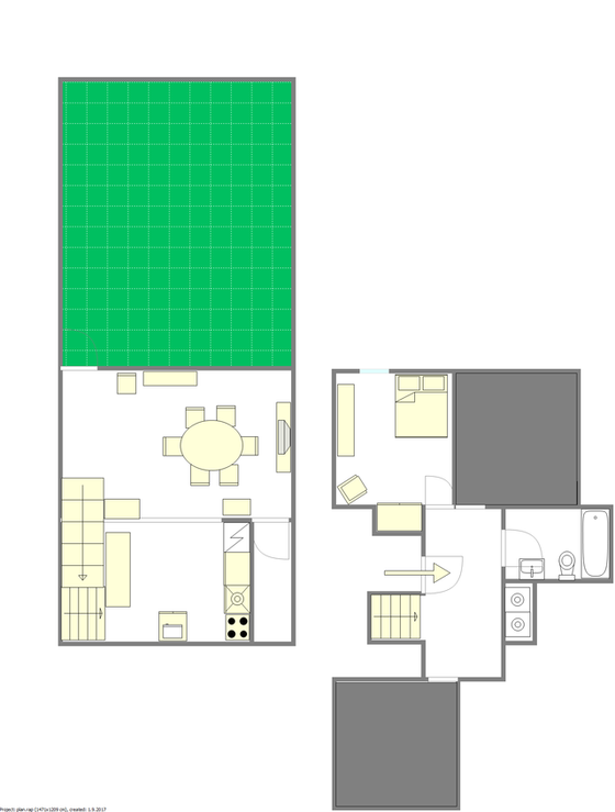 Apartment Harlem - Interactive plan