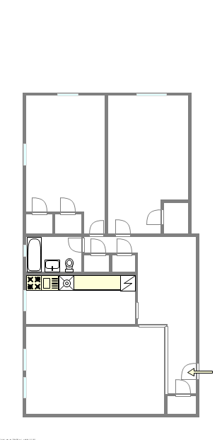 Apartment Sunnyside - Interactive plan