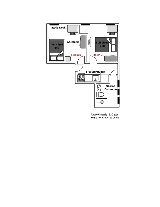 Apartment Greenwich Village - Interactive plan