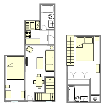 Town house Upper West Side - Interactive plan