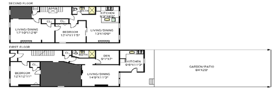 Apartment Crown Heights - Interactive plan
