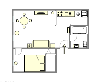 Apartment Lenox Hill - Interactive plan