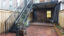 Townhouse Bedford Stuyvesant - Yard