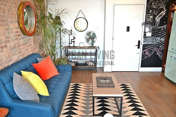 bushwick living room. Apartment Bushwick  Living room Brooklyn Eldert Street Monthly furnished rental 1 bedroom
