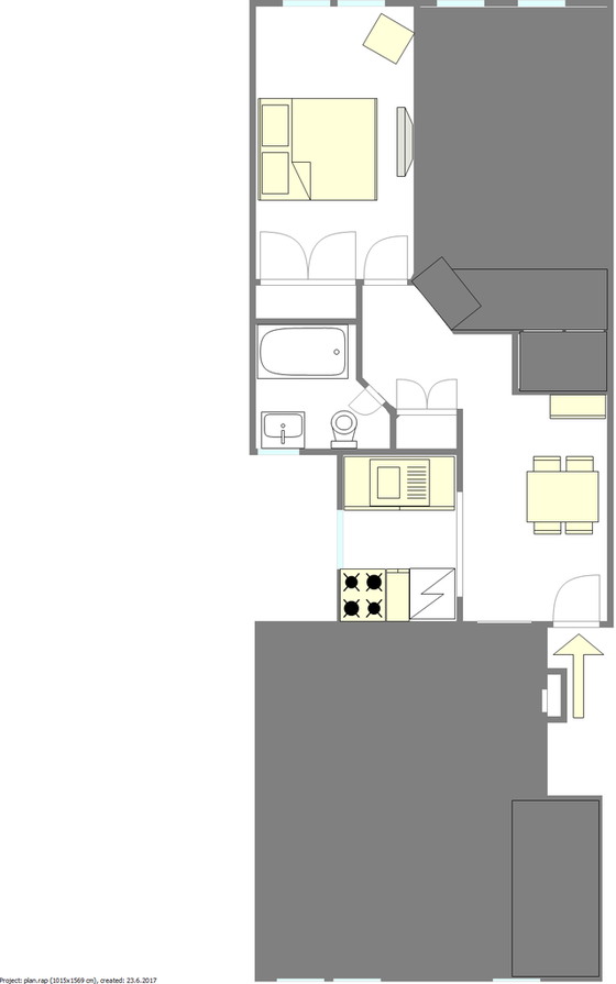 Apartment East Flatbush - Interactive plan