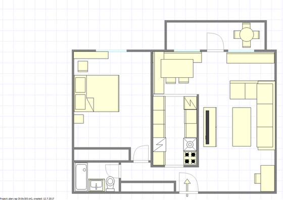 Penthouse Upper West Side - Interactive plan
