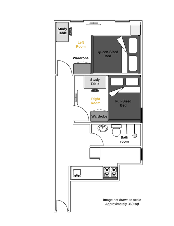 Apartment Chelsea - Interactive plan