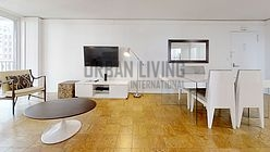 Apartment Theatre District - Living room
