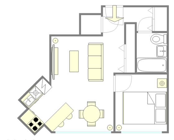 Apartment Kips Bay - Interactive plan