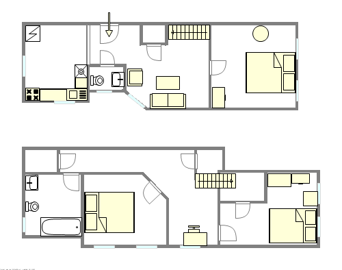 Duplex Upper West Side - Interactive plan