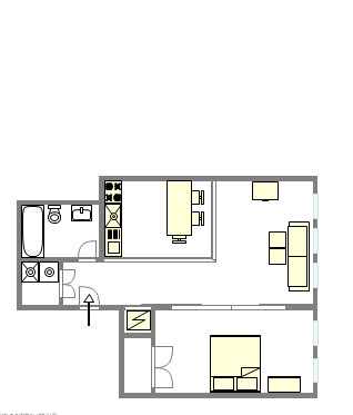 House Upper West Side - Interactive plan