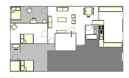 Apartment Financial District - Interactive plan
