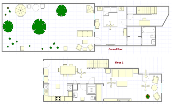House Harlem - Interactive plan
