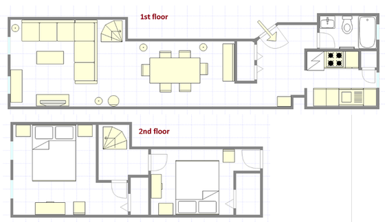 Duplex Upper East Side - Interactive plan