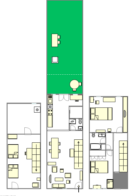 Apartment Park Slope - Interactive plan