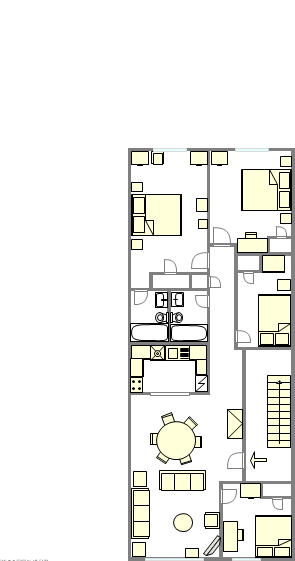 Apartment Prospect Heights - Interactive plan