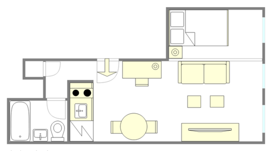 Apartment Sutton - Interactive plan