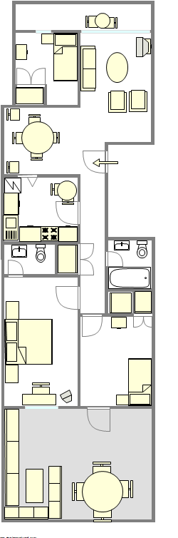 Townhouse Woodside - Interactive plan