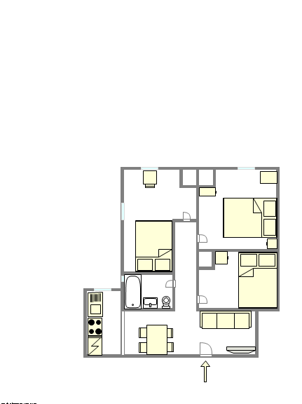 Apartment East Harlem - Interactive plan